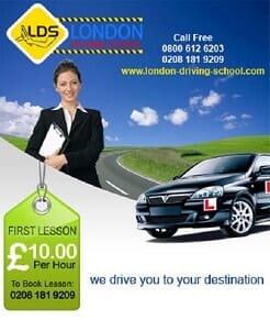 Special offers on driving lessons in Brixton