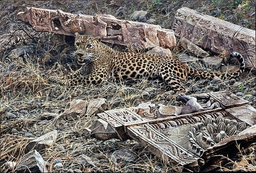Original Leopard Painting
